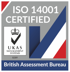 ISO 14001 Certificate of Environmental Assurance